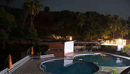 Arthigamya Spa & Resort-Pool-and-hill-view