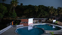 Arthigamya Spa & Resort-Pool-and-hill-view1